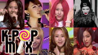 [Kpop Mix A to Z] F : f(x) & 4Minute, clip giai tri, giai tri tong hop