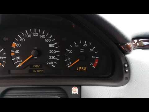 Mercedes W210 ruckelt beim Kaltstart | Idle problem | Coldstart