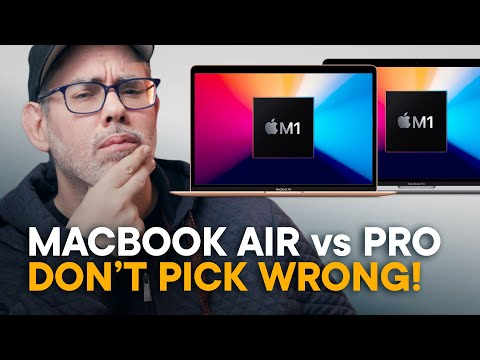M1 MacBook Air vs. M1 MacBook Pro — Don't Choose WRONG!