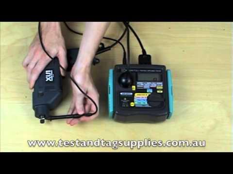 Video Review of Kyoritsu 6201A Portable Appliance Tester