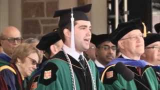 Alumnus, Ben Kweskin, Sings at Washington University Commencement (2015)
