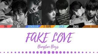 Video BTS (방탄소년단) - FAKE LOVE (Official Audio) - Color coded lyrics (Han/Rom/Eng) MP3, 3GP, MP4, WEBM, AVI, FLV Desember 2018