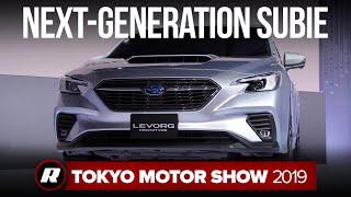 Subaru Levorg Prototype isn't coming to America... in one piece by Roadshow