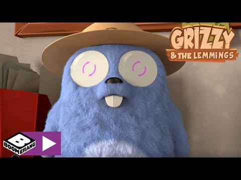 Grizzy and the Lemmings | Electro Ranger Lemming | Boomerang Africa