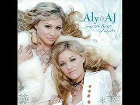 Tekst piosenki Aly & AJ - Winter Wonderland po polsku