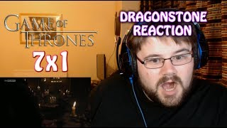 My reaction to the first episode of season 7 of Game of Thrones - Dragonstone. I normally do an intro and review but due to time...