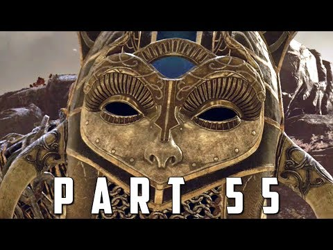GOD OF WAR Walkthrough Gameplay Part 55 - HILDR VALKYRIE (God of War 4)