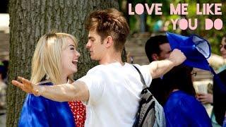 Video Andrew Garfield & Emma Stone I Love Me Like You Do MP3, 3GP, MP4, WEBM, AVI, FLV April 2019