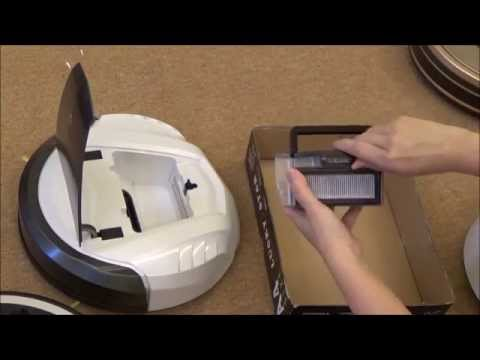 Sporty Robotic Vacuum Cleaner iROVA SLV-801