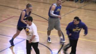 Students Dominate Student-Faculty Basketball Game