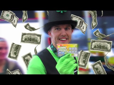 This guy spent almost 2 years finding 100 pennies on the ground, then bought a $1 lottery ticket with them.