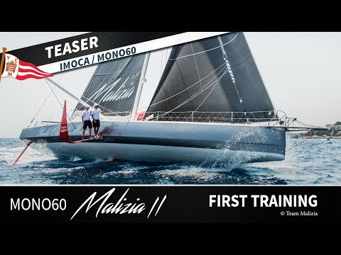Mono60 Malizia | First Training