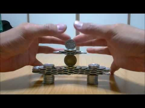 An Impressive Balancing Act with Coins