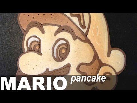 super mario: un pancake come non lo avete mai visto!