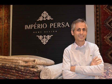 Decoração, Desisgn e Tapetes – Pedram Zaman, presidente da Império Persa Home Design no Programa Ricardo Orlandini.net