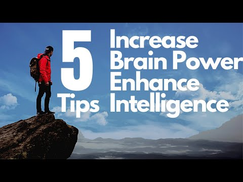 How to become smart - 5 Tricks to Increase Your Intelligence INSTANTLY