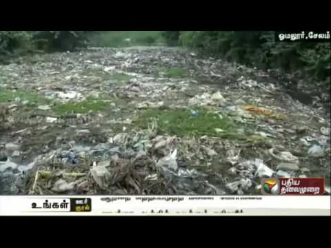 People-request-to-clean-up-Sarabanga-river-in-Omalur-Salem