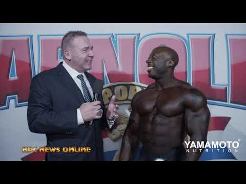 2019 Arnold Men's Classic Physique Winner George Peterson Interview With Tony Doherty.