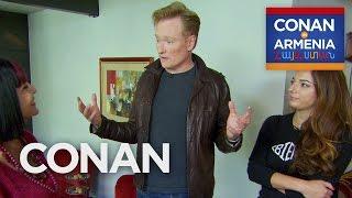 Video Conan's Crash Course In Armenian  - CONAN on TBS MP3, 3GP, MP4, WEBM, AVI, FLV Oktober 2018
