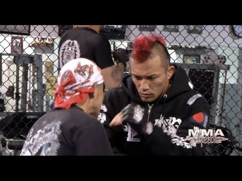 Norifumi KID Yamamoto on His UFC Debut Includes Training Footage