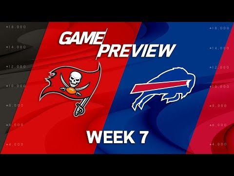 Video: Tampa Bay Buccaneers vs. Buffalo Bills | Week 7 Game Preview | Move the Sticks