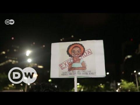 Mordfall Marielle Franco: Proteste in Brasilien | DW Deutsch