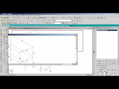 STAAD.Pro V8i Fundamentals Part 1: Model Generation