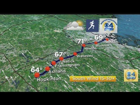 Boston Marathon Weather Forecast