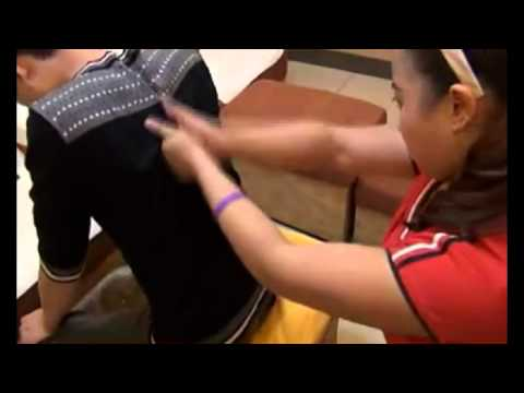 DIY Chinese Back Massage (1) Relaxation and Treatment of Back Pain