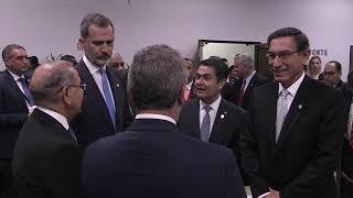 Su Majestad el Rey asistió a la investidura de Laurentino Cortizo en Panamá