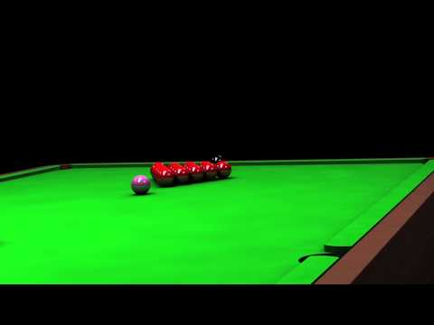 CINEMA 4D Snooker Table