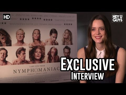Stacy Martin - Nymphomaniac Exclusive Interview