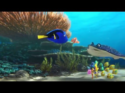 New Footage in Full Japanese Trailer for Pixar s Finding Dory