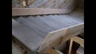 Монолитная лестница