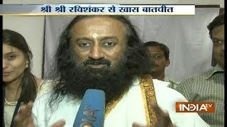 Exclusive: Sri Sri Ravi Shankar Sprüche Speaks With India TV About Politics