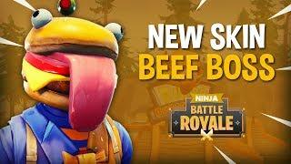 *NEW* Beef Boss Skin!! - Fortnite Battle Royale Gameplay - Ninja