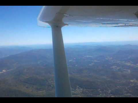 Flight over the Blue Ridge Mountains from Lancaster SC to Gatlinburg TN in Skyhawk N46401 (Part 6)
