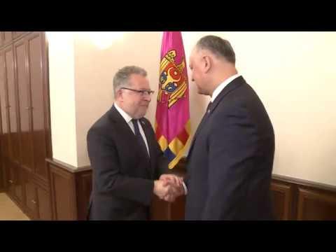 Președintele țării a avut o întrevedere cu Ambasadorul Franței