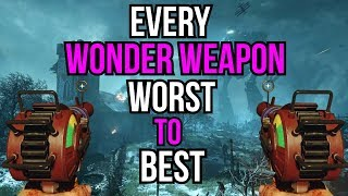 Video EVERY WONDER WEAPON RANKED WORST TO BEST (COD ZOMBIES) MP3, 3GP, MP4, WEBM, AVI, FLV Mei 2019