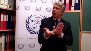 WFD President Colin Allen's detailed explanation on 17th World Congress of the World Federation of the Deaf main theme.