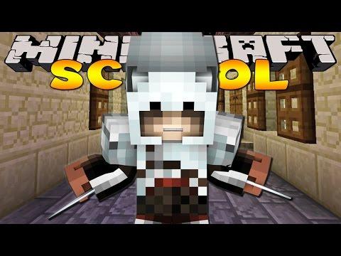 Minecraft School : LITTLE KELLY BECOMES AN ASSASSIN!