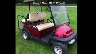 9. 2012 Club Car Precedent Electric Golf Cart