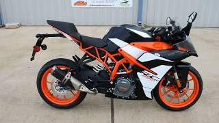 6. $5,499:  2017 KTM RC 390 Overview and Review