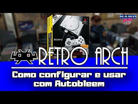 PS1 Classic - Como configurar e usar o Retroarch do Autobleem!