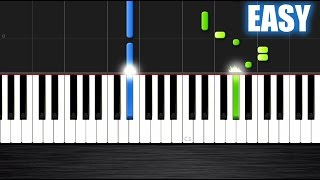 Silent Night - EASY Piano Tutorial