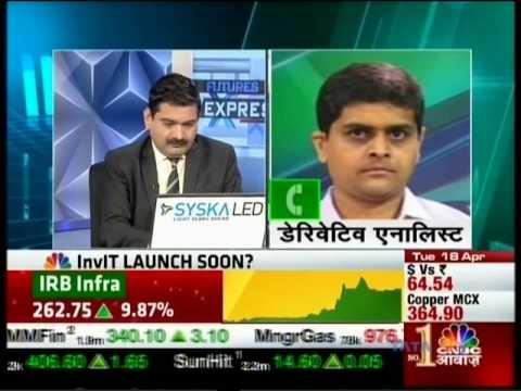 CNBC Awaaz Futures Express, 18 April 2017 - Mr. Sameet Chavan, Angel Broking
