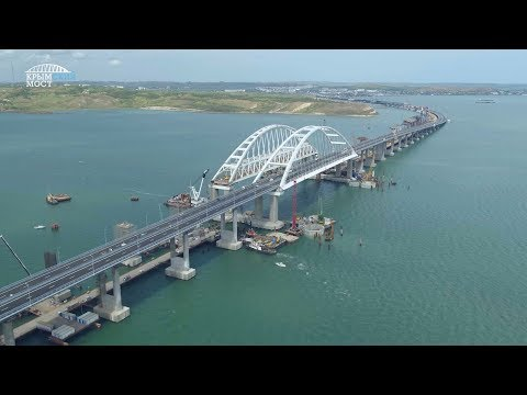 27 месяцев строительства Крымского моста за3 минуты
