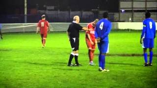 FC BROXBOURNE BOROUGH V BALDOCK TOWN - 2013