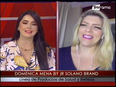 Doménica Mena by Jr Solano Brand línea de productos de salud y belleza