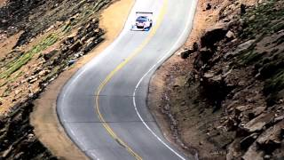 Sorry for the poor audio. This is part of Sebastian Loeb's record shattering run at the 2013 Pikes Peak International Hill Climb. The previous section can be viewed here: http://www.youtube.com/watch?v=tLB24K9ncxU&feature=youtu.be